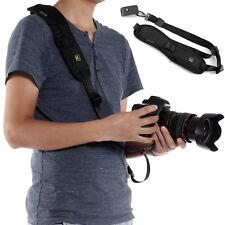 Universal Correa de Cámara Tipo Bandolera Seguro para SLR DSLR Nikon Canon Sony
