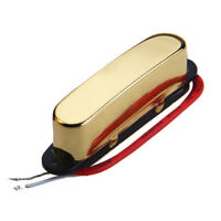 Single Coil Neck Pickup Gold For Fender Tele Electric Guitar Parts Replacement