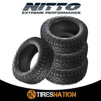 (4) New Nitto Ridge Grappler 33/12.5/20 119Q All-Terrain Tire