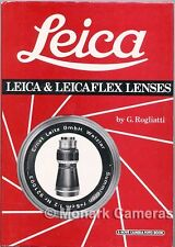Leica & Leicaflex lenti da G Rogliatti. ulteriori Hove & LEITZ fotocamera LIBRI elencati