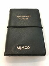 Free Express - Mimco Classico Passport Holder Rose Gold Plating Wallet Purse