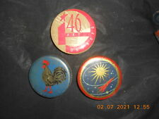 Set of three monpacier candy cans,USSR,1960-s