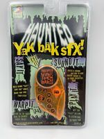 VERY RARE SEALED (Haunted) Yak Bak Classic YES 1996 Voice Recording Talking Toy
