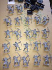 Warhammer plastic Bretonnian Archers Bowmen  (22) OOP Unpainted