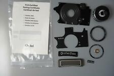 Rolleiflex 2.8 FX / GX spare parts nameplate, sidepanels, Apogon plate, etc