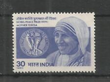 INDIA 1980 NOBEL PEACE PRIZE MOTHER TERESA SG,977 UM/M NH LOT 7732A