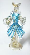 Signed BARBINI Venetian Murano Art Glass 18th Century Dandy Gentleman Figure