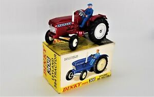 DINKY 308 LEYLAND 384 TRACTOR - EXCELLENT IN ORIGINAL BOX - WORLDWIDE SHIPPING