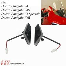 For Ducati Panigale V4 Speciale V4S Front LED Turn Signal Kit Mirror Block Off