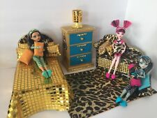 Monster High furniture Bedroom set: Cleo De Nile. Bed,sofa ,chest,bed Set,lamp