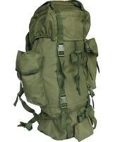Cadet Pack OLive Green 60 ltr Patrol Military Army Rucksack Tactical Bergen