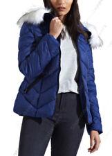 Cappotti e giacche da donna blu in pelliccia Taglia 40