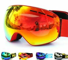 lunettes de ski double couches UV400 anti-buée grand masque de ski neige GOG-201