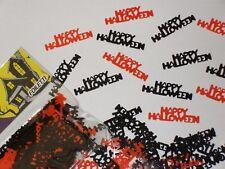Happy Halloween  Orange & Black Table confetti / Sprinkles   14g - Free postage