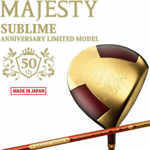 from Japan 2021 MARUMAN Golf MAJESTY SUBLIME 50th ANNIVERSARY Driver LV920-R