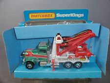 "MATCHBOX SUPERKINGS MODEL No.K-20  "" PETERBILT"" WRECK TRUCK       VN MIB"