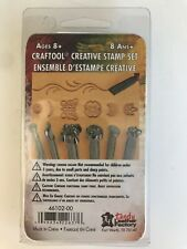 Tandy Leather 7 Piece Creative Stamping Tool Set 46102-00