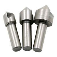 3PCS High-speed Steel 90 Degree Single Edge Chamfering Countersink Set Kit