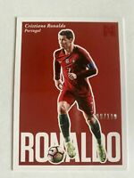 2017 PANINI NOBILITY SOCCER RED PARALLEL Cristiano Ronaldo 108/199