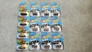 HOT WHEELS MARS PERSEVERANCE ROVER LOT 9 + 4 MOTOSAURUS