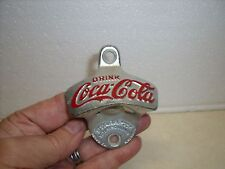 """Vintage Starr """"X"""" Coca-Cola cooler bottle opener  Wall Mount made in Germany"""