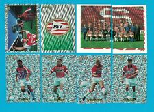 PSV EINDHOVEN - 30 STICKERS FOOTBALL PANINI VOETBAL 98 - 1998 - VERY RARE