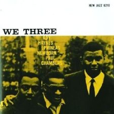 ROY/NEWBORN,PHINEAS/PAUL HAYNES - WE THREE (RUDY VAN GELDER REMASTER)  CD NEW+