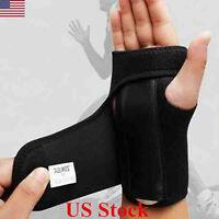 Breathable Wrist Support Brace Splint For Carpal Tunnel Arthritis Sprain Strain