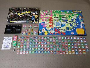 Pokemon Master Trainer Board Game (1999 Hasbro) RARE!