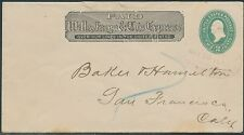 #U305 WELLS FARGO Co COVER TO SAN FRANCISCO MAY 25 RED CANCEL BR8164