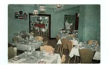 Country House Dining Interior Springfield IL postcard