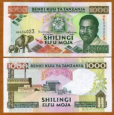 Tanzania, 1000 Shilingi, ND (1993), Pick 27 (27b), UNC