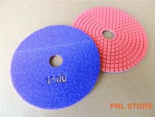 1x 1500 Grit Diamond Polishing Pads 4 inch Wet/Dry Granite Marble Concrete Stone