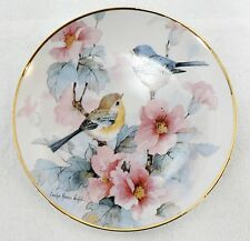 Franklin Mint Springtime Serenade Limited Edition Porcelain Plate # H1147