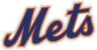 "New York Mets MLB Vinyl Decal - You Choose Size 2""-54"""
