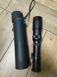 Lens & Original Case no.71528 pro 1:6.3 f=400mm made in Japan