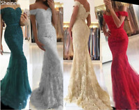 Sweetheart Lace Mermaid Bridesmaid Dresses for Wedding Beads Formal Evening Gown