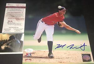 Kyle Wright Atlanta Braves Autographed Signed 8x10 Photo JSA WITNESS COA