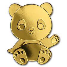 Palau 1/2 gram Gold $1 Little Panda Coin - SKU #114943