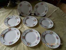 "VINTAGE ROYAL WORCESTER 8 TEA / SIDE PLATES ""ROANOKE"" No: Z 22827 6 1/4"" Dia"