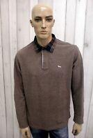 HARMONT&BLAINE Polo Uomo Taglia 2XL Maglietta Casual T-shirt Maglia Manica Lunga