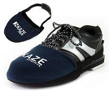 KAZE SPORTS Bowling Shoe Slider Slide, Blue