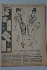 """ FEMMES D'AUJOURD'HUI "" PATRON SUPPL. N°890 // PETITE ROBE T44"