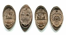 Hawaii Elongated Cents: Hawaii Counties Police Badges, set of 4 copper cents