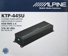 Alpine KTP-445U Compact upgrade for any car radio 45 watts RMS BRANDNEW ITEM!