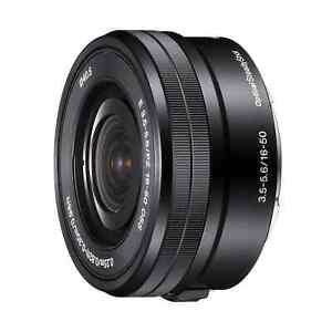 Sony 16-50mm f/3.5-5.6 Lens E PZ - Black