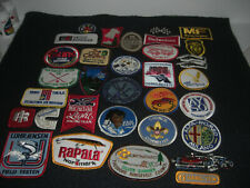 Company Advertising Vintage 1970-80's Patches Wholesale Lot of 32  Lot # 4