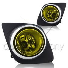 2009-2012 Toyota Rav4 Fog Lights w/Wiring Kit & Wiring Instructions - Yellow