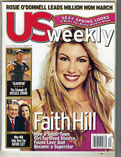 FAITH HILL US Magazine 5/15/00 RUSSELL CROWE PATRICIA VELASQUEZ ROSIE O'DONNELL