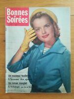 Bonne soirée N°1868 1957 Mode patrons Maria Schell Helmut Bacharias Roman photo